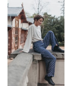bright side woven pant