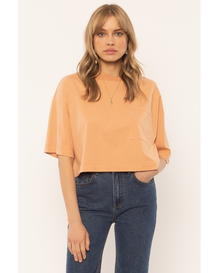 Easy Life T-shirt coral